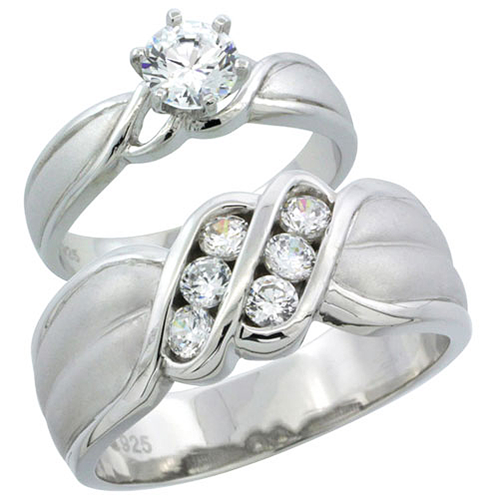 wholesale sterling silver wedding engagement rings