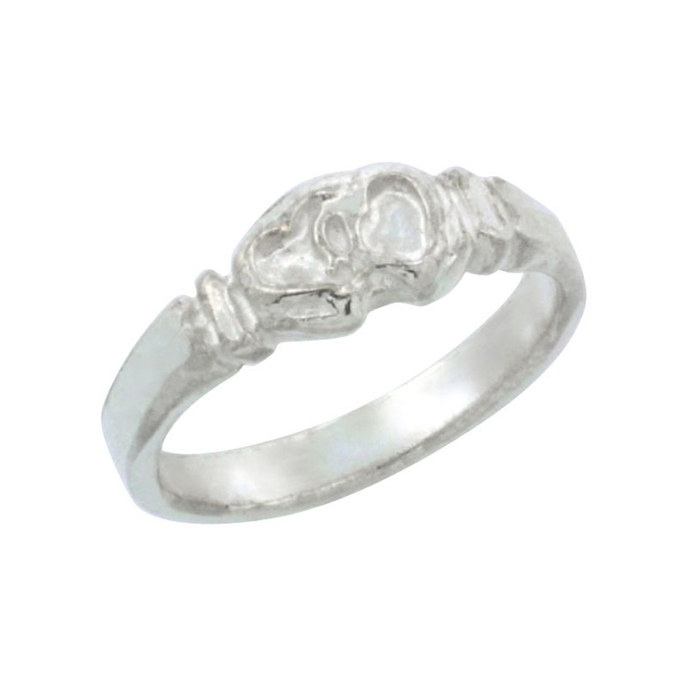 Sterling Silver Knot Baby Ring / Kid\'s Ring / Toe Ring (Available in Size 1 to 5)