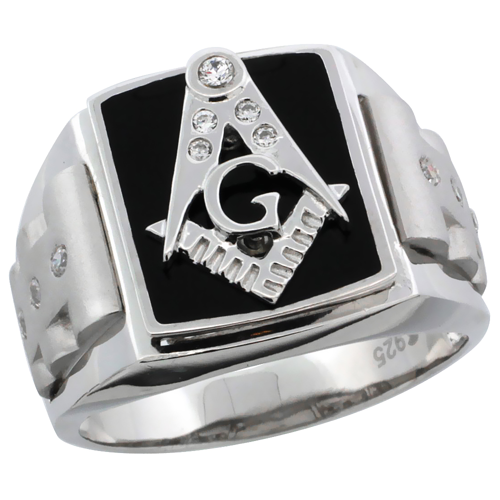 Sterling Silver Rings/Masonic Rings
