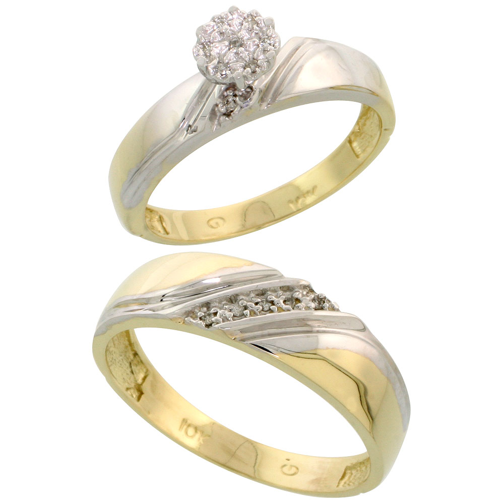 His & Hers Ring Sets