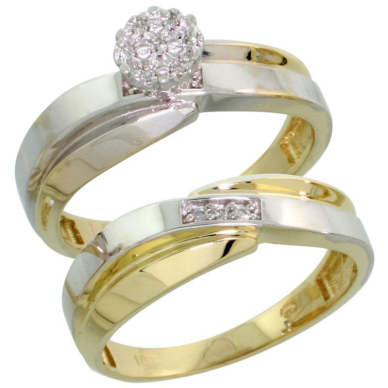2-Piece Ladies' Ring Sets