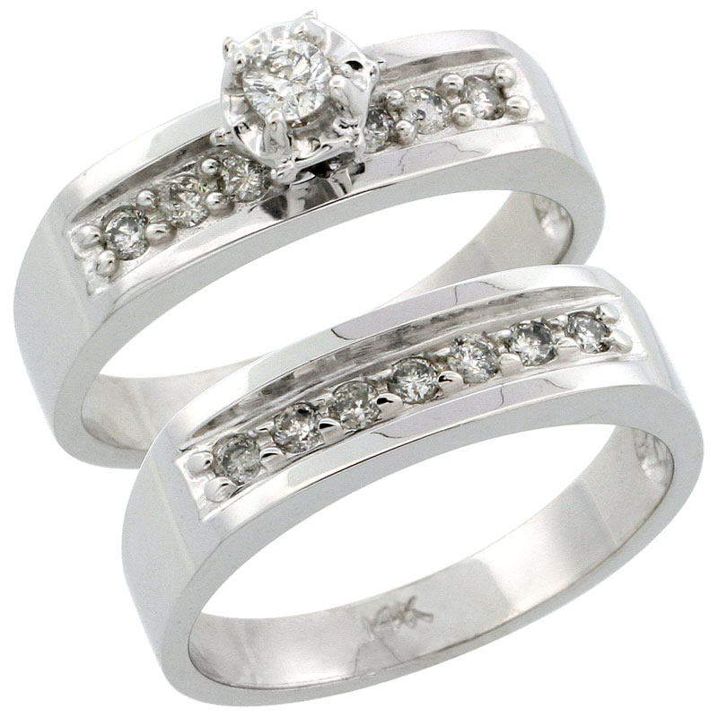 2-Piece Ladies' Rings
