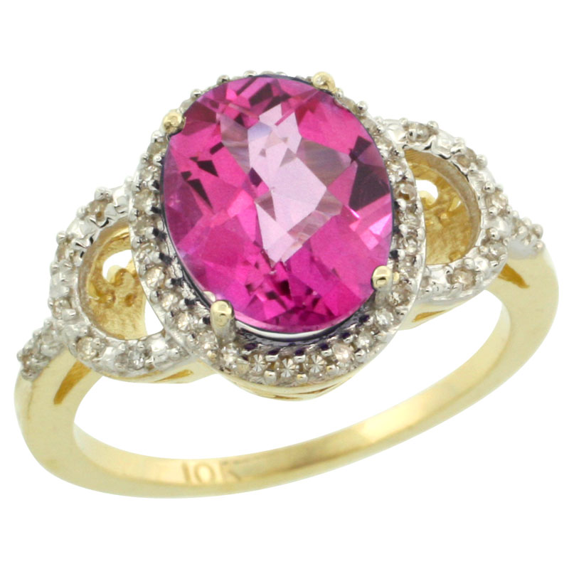 Color Gemstone Rings$$$14k Yellow Gold Diamond Jewelry