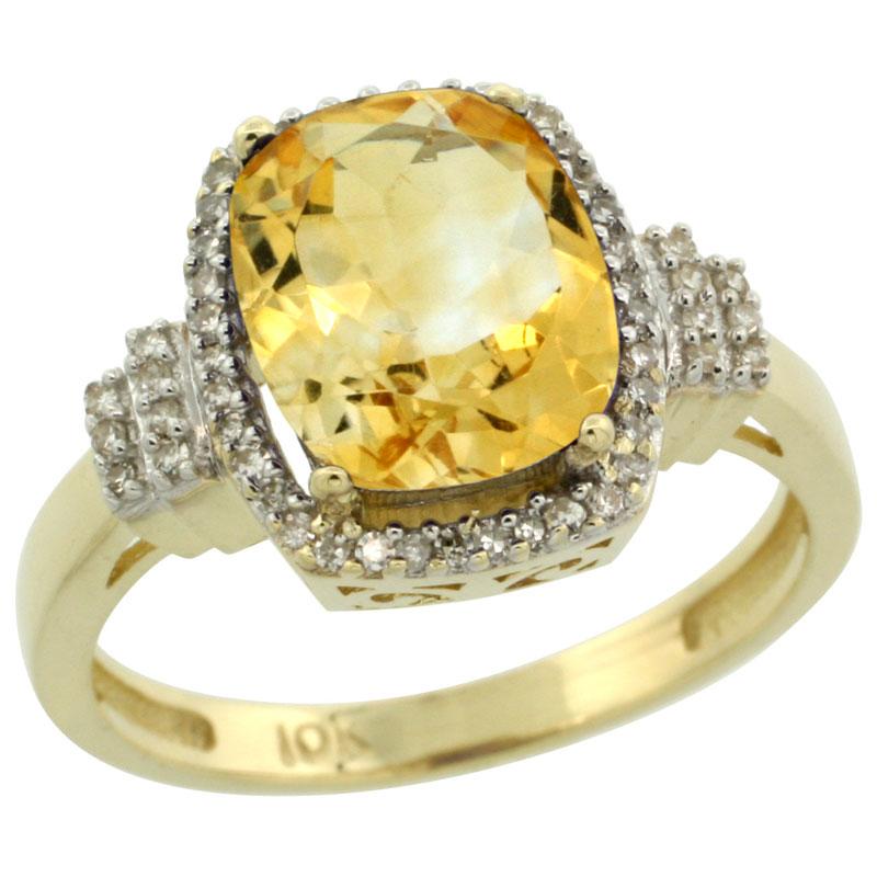 Color Gemstone Rings$$$10k Yellow Gold Diamond Jewelry