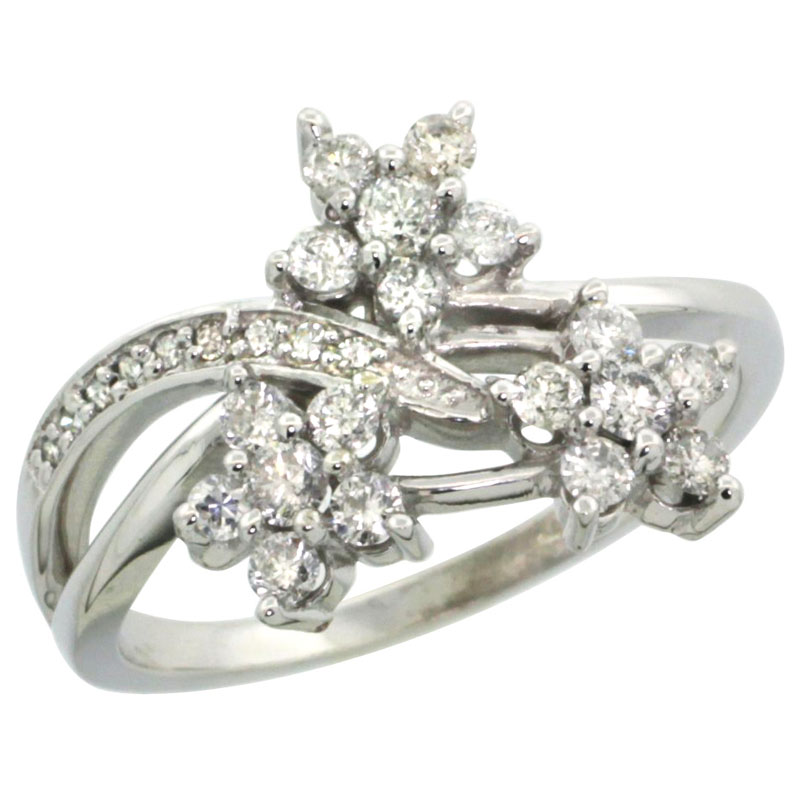 Rings for Women$$$14k White Gold Diamond Jewelry
