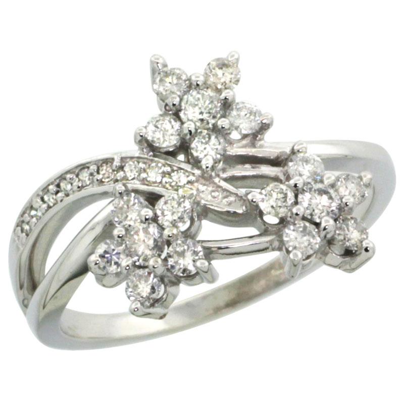 Rings for Women$$$14k White Gold Diamond Jewelry